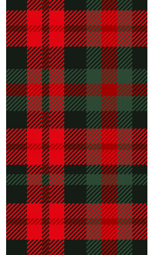 Scottish Caro Red & Green